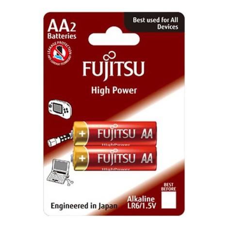 2 ks Alkalická batéria High Power AA 1,5V