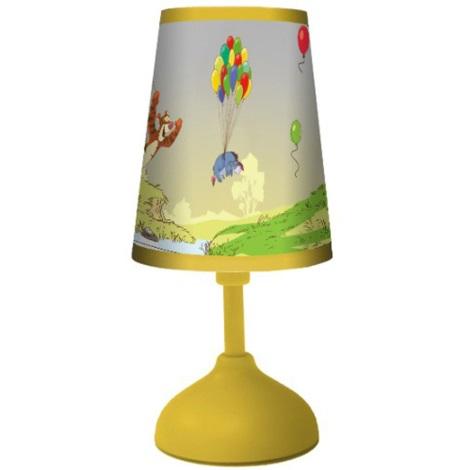 70164 Detská stolná lampa POOH 1xG24q/10W žltá