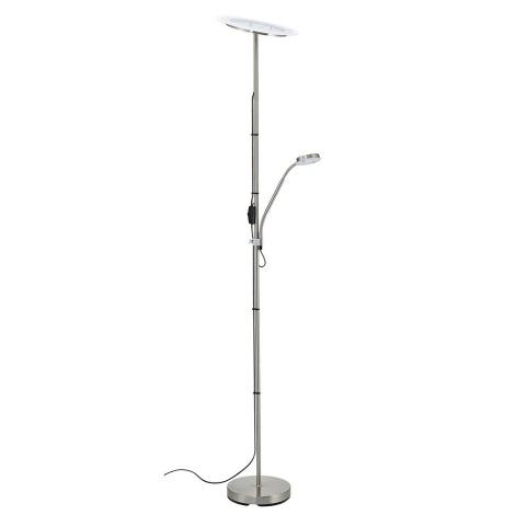 B.K. Licht BKL1022 - LED Stojacia lampa LYRA LED/20W/LED/3,5W/230V