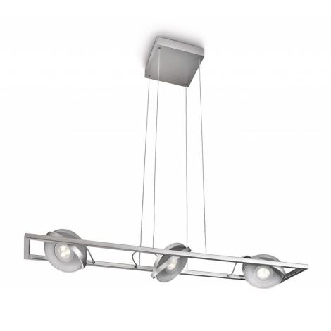 Bodové svietidlo VISION 3xLED/7,5W/230V hliník