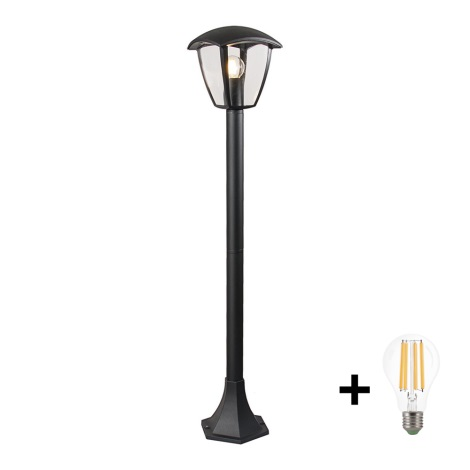 Brilagi - LED Vonkajšia lampa LUNA 1xE27/10W/230V IP44