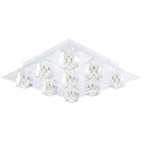 EGLO 13273 - LED Stropné svietidlo SALENTO 1 9xG4/20W+9xLED/0,5W
