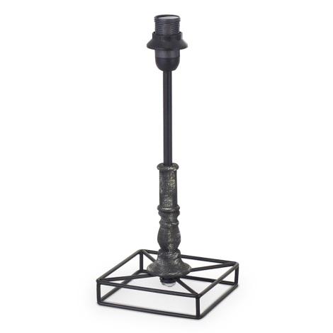 Eglo 49346 - Noha lampová VINTAGE 1xE14/40W/230V čierna kov