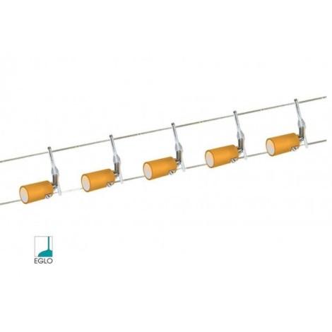 Eglo 51233 - Bodové svetlo LINE 3 5xG4/20W