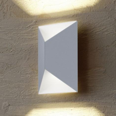 Eglo 54603 - LED Vonkajšie nástenné svietidlo PREDAZZO 2xLED/2,5W/230V IP44