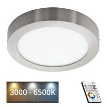932969c23 Eglo 78769 - LED Stmievateľné stropné svietidlo TINUS 1xLED/21W/230V