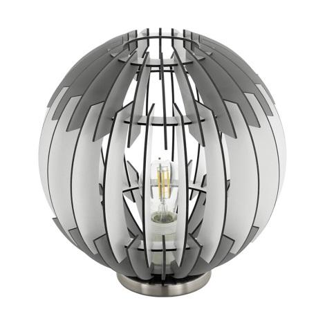 Eglo 79139 - Stolná lampa OLMERO 1xE27/60W/230V