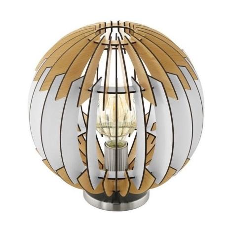 Eglo 79142 - Stolná lampa OLMERO I 1xE27/60W/230V
