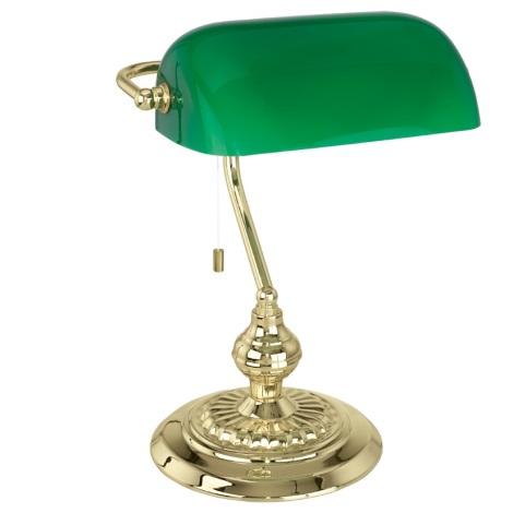 Eglo 90967 - BANKER Stolná lampa E27/60W/230V