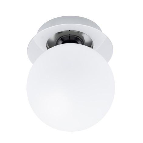 EGLO 91184 - Nástenné stropné svietidlo BANTRY 1xG9/40W chróm / opálové sklo