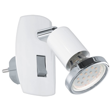 Eglo 92925 - LED svietidlo do zásuvky MINI 4 1xGU10-LED/3W/230V