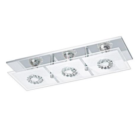 Eglo 93782 - LED stropné svietidlo RONCATO 3xGU10/3W/230V