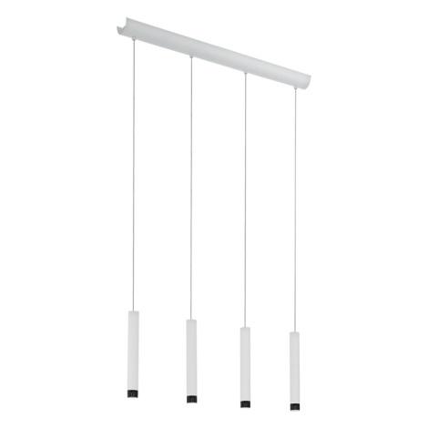 Eglo 93797 - LED závesné svietidlo RAPARO 4xLED/5W/230V