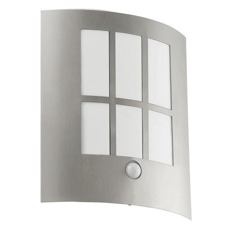 Eglo 94213 - LED vonkajšie osvetlenie s čidlom CITY LED 1xLED/3,7W/230V