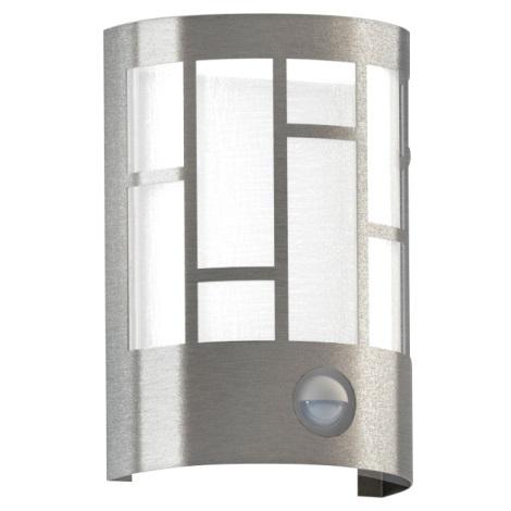 Eglo 94798 - Vonkajšie svietidlo so senzorom CERNO 1xE27/60W/230V