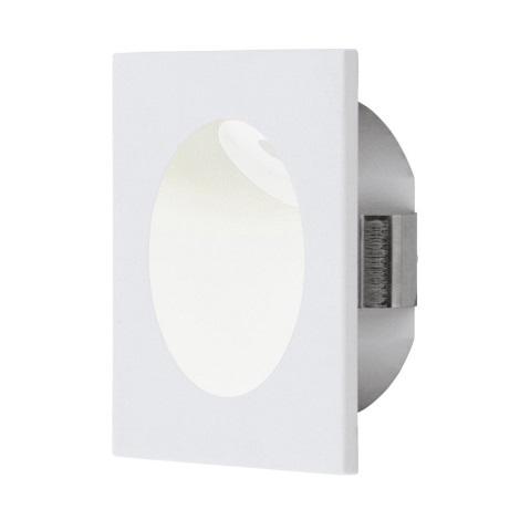 Eglo 96901 - LED Schodiskové svietidlo ZARATE 1xLED/2W/230V biela