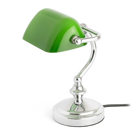 Faro 68332 - LED Stolná lampa MINI BANKER 1xE14/6W/230V