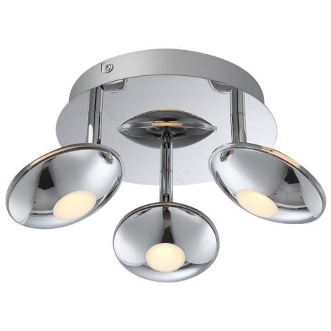 Globo 56210-3 - LED bodové svietidlo CHROM 3xLED/6W