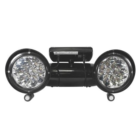 IBV 400169-104 - LED Solárny reflektor so senzorom 2xLED/0,5W/1,2V IP44