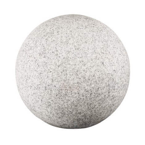 IBV 409130-010 - Vonkajšia lampa GRANITE BALL 1xE27/25W/230V IP65 pr. 300 mm