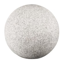 IBV 409140-010 - Vonkajšia lampa GRANITE BALL 1xE27/25W/230V IP65 pr. 400 mm