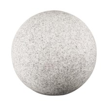 IBV 409150-010 - Vonkajšia lampa GRANITE BALL 1xE27/25W/230V IP65 pr. 500 mm