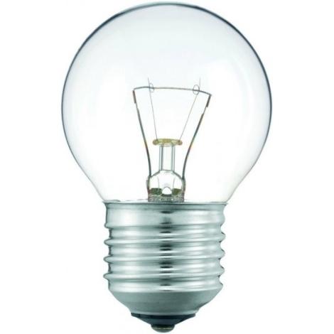 Iluminačná žiarovka E27/25W číra