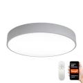 Immax NEO 07143-GR80 - LED Stmievateľné stropné svietidlo RONDATE LED/65W/230V Tuya šedá + diaľkové ovládanie