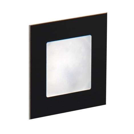 LDST AN-01-SC-BC9 - LED schodiskové svietidlo ANGEL 9xLED/1,2W/230V matná čierna