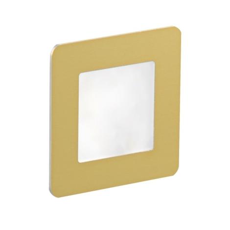 LDST DI-01-SZ-BC9 - LED schodiskové svietidlo DIANA 9xLED/1,2W/230V zlatá 3500K