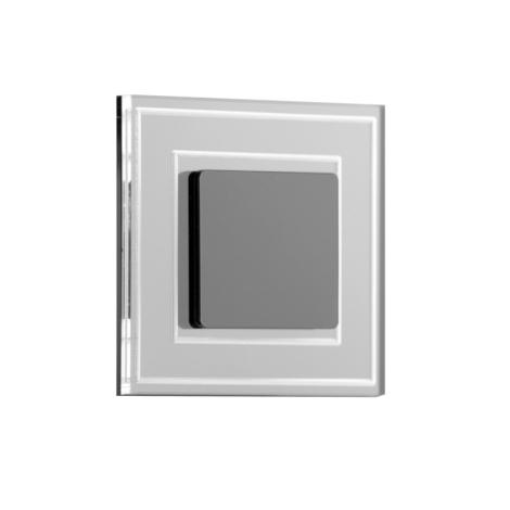 LDST KE-01-CB-BC8- LED schodiskové svietidlo KELLY 8xLED/1,2W/230V lesklá čierna