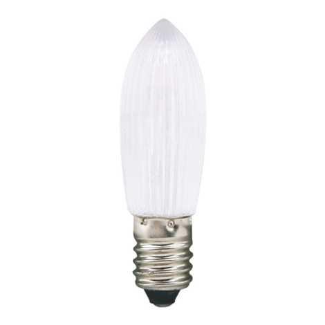 LED dekoračná žiarovka E10/0,3W/14-55V