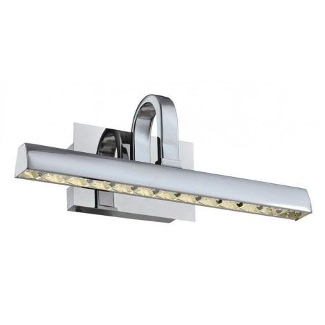 LED Krištáľové obrazové svietidlo MONET LED/6W/230V chróm