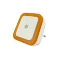 LED Nočné svetlo so senzorom LED/0,5W/230V oranžová