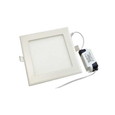 LED podhľadové svietidlo RIKI-V LED SMD/12W/230V 175x175 mm