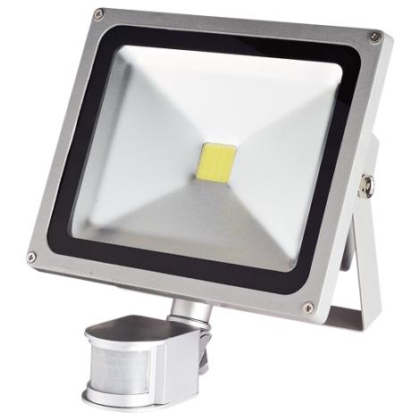 LED Reflektor so senzorom 1xLED/30W/230V IP44