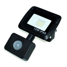 LED Reflektor so senzorom LED/10W/230V IP65 3000K