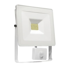 LED Reflektor so senzorom NOCTIS LUX LED/20W/230V IP44 biela
