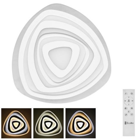 LED Stmievateľné stropné svietidlo VELA LED/60W/230V + diaľkové ovládanie
