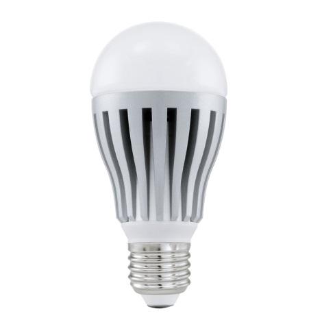 LED žiarovka E27/8W 4200K strieborná