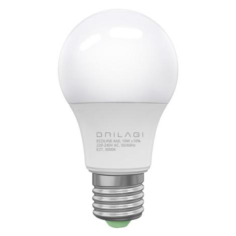 LED Žiarovka ECOLINE A60 E27/10W/230V 3000K - Brilagi
