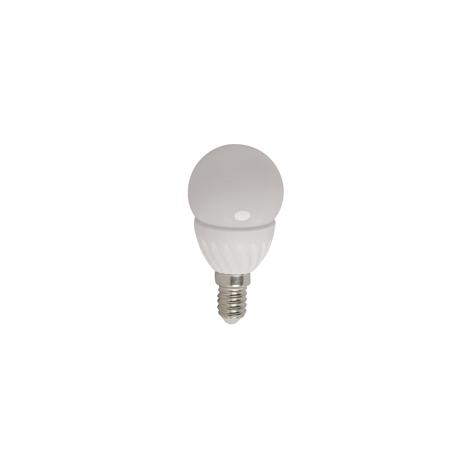 LED žiarovka MINI GLOBE E14 / 3,5 W studená biela