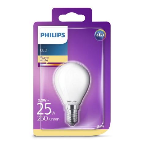 LED Žiarovka Philips E14/2,2W/230V