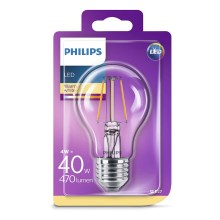 LED žiarovka Philips E27/4W/230V 2700K