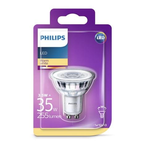 LED Žiarovka Philips GU10/3,5W/230V