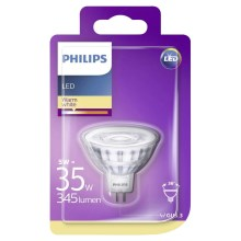 LED Žiarovka Philips GU5,3/5W/12V 2700K