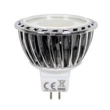 LED Žiarovka PREMIUM GU5,3/MR16/5W/12V 2700 K