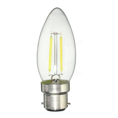 LED Žiarovka VINTAGE B22/2,8W/230V