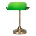 Lucide 17504/01/03 - Stolná lampa BANKER 1xE14/ESL 11W/230V