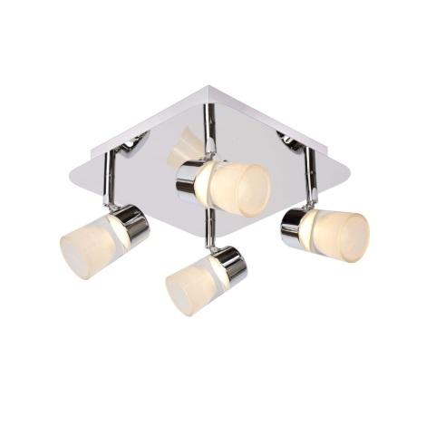 Lucide 26993/20/11 - LED kúpeľňové bodové svietidlo XANTO-LED 4xLED/5W/230V